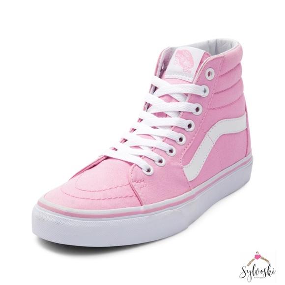 Vans Sk8 Hi Skate Shoe Prism Pink ce845463af72